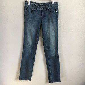 AT LOFT 26 /2 modern straight jeans